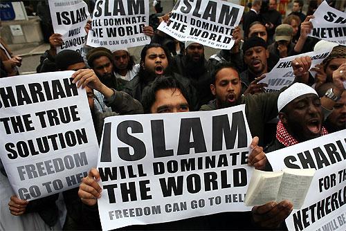 Think, that muslim world domination