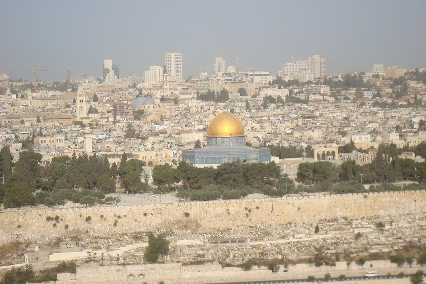 Temple Mount in Pilgrim Tours to the Holyland