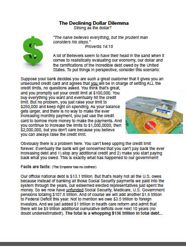 The Declining Dollar Dilemma - Compass International