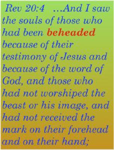 Revelation 20:4