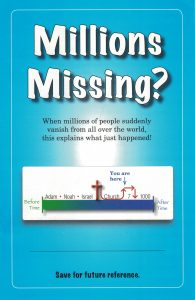 Millions Missing Booklet
