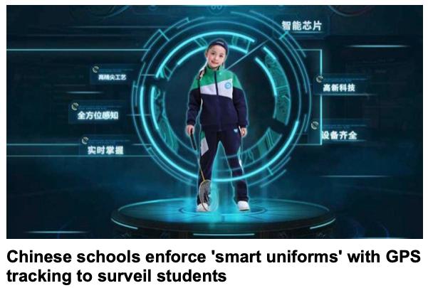 China students uniforms