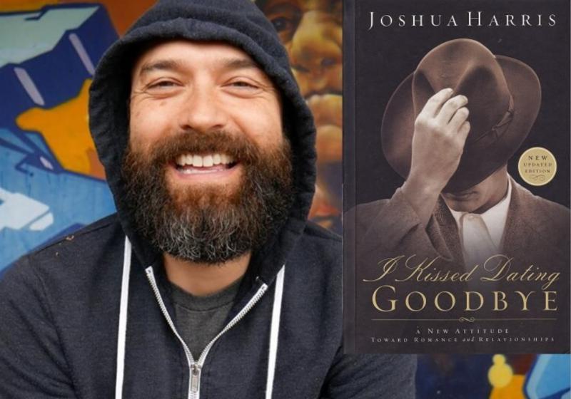 Joshua Harris and book cover