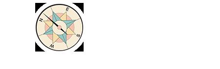 Compass Logo White