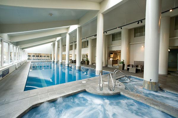 Coeur d'Alene Resort indoor pool