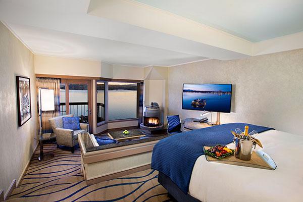 Coeur d'Alene Resort room