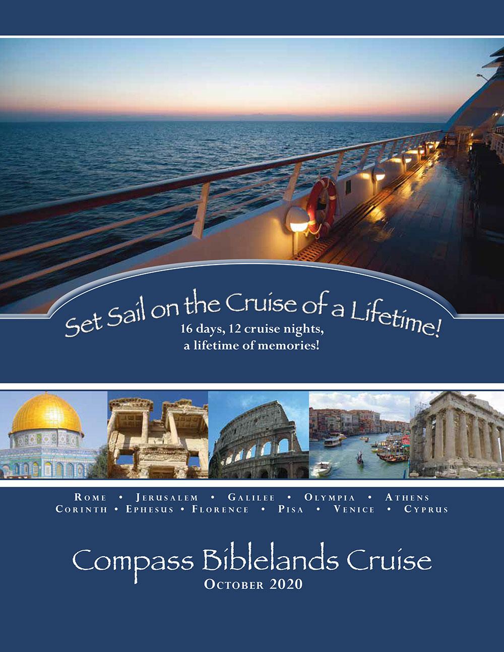 Compass Biblelands Cruise 2020 Brochure