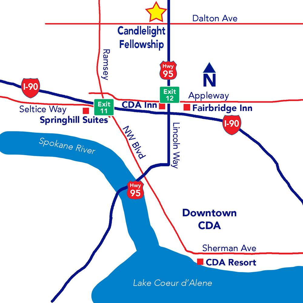 CDA map